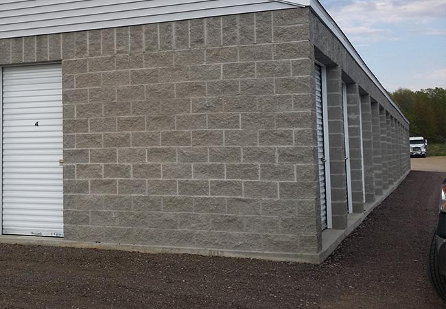 Self Storage Unit Photo - Concrete Construction
