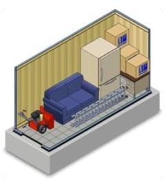 Photo Premium Unit. 5u0027 x 10u0027  sc 1 st  Reliable Mini Warehouses & Reliable Mini Warehouses - Locations